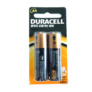 Duracell AA/AAA(2개/pack)