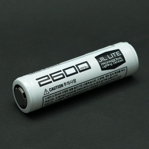 18650 Li-ion battery (2600mAh)